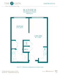 500 Sq Ft Studio Floor Plans by Floor Plans The Glen
