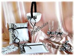 wedding guest book and pen set wedding guest book black and white damask guest book and pen set