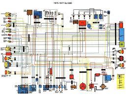 honda gl1000 goldwing wiring diagram 1975 1977