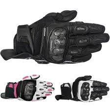 womens motorcycle apparel stella spx air carbon womens leather motorcycle gloves
