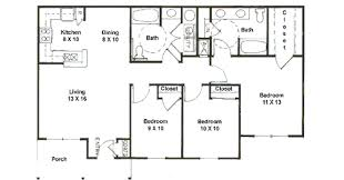 3 bedroom house plans one pleasing 20 simple house floor plans one decorating design