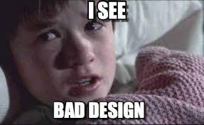 Meme Design - bad design i see on memegen