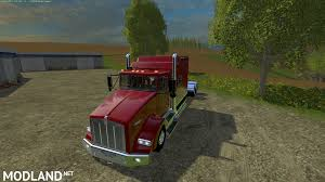 2016 kenworth cabover kenworth t800 custom semi mod for farming simulator 2015 15 fs