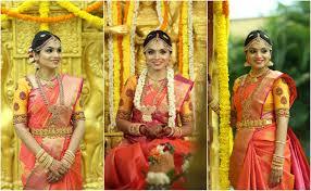 arranged wedding shopzters kumaran silks