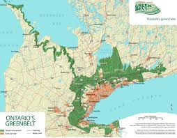 Map Of Ontario Canada Pros And Cons Of Ontario Greenbelt U0027s Five Year Legacy To Be
