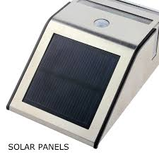 Modern Solar Lights Outdoor by Ip44 Waterproof 2 Led Solar Lights Pir Modern Solar Motion Sensor