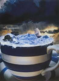 storm in a teacup storm in a teacup by paul welham clarke art that makes me think