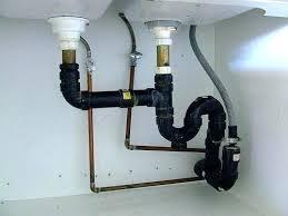 sink drain pipe kit kitchen sink plumbing kit attractive dishwasher double fresh 18