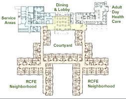 facility floor plan nursing home plans smart design floor plans for nursing homes