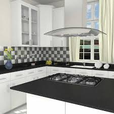 island exhaust hoods kitchen ancona tornado island ii 36 in kitchen island range