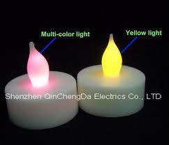 electric candles set of 2 three inch high melted look flameless