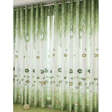 Vintage Green Curtains Vintage Curtains And Drapes Decorate The House With Beautiful