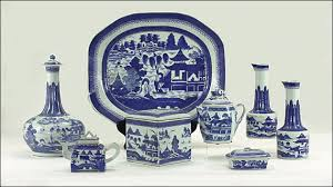canton porcelain canton common views by user from antiques magazine