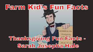 rnraside s farm facts thanksgiving fact j hale