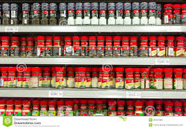 Spice Rack Mccormick Mccormick Spices Editorial Stock Image Image 20866704