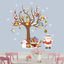 amazon com elecmotive merry christmas santa claus owls christmas