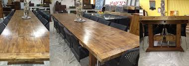 Dining Table For 20 Made Dining Tables