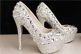 wedding shoes size 12 fashion luxury crystals rhinestone wedding shoes size 12 cm high