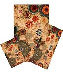 Stain Resistant Rugs Amazon Com New Medallion Floral Shapes Area Rug 8 Feet X 10 Feet