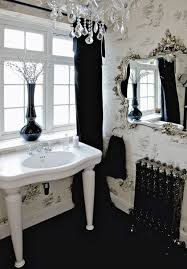 Black And White Wallpaper For Bathrooms - a twitter wallpaper traditional bathroom sarah richardson design