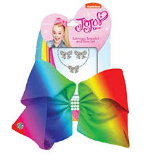jojo s earrings jojo siwa jojo bow and jewellery set co uk clothing