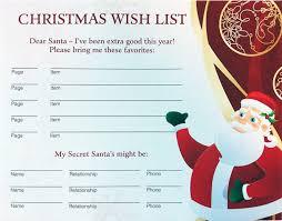 christmas wish list christmas list template nicetobeatyou tk