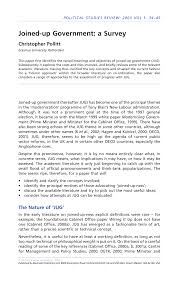 joined up government u0027 pdf download available