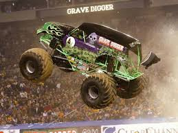 driver monster truck grave digger recovering accident