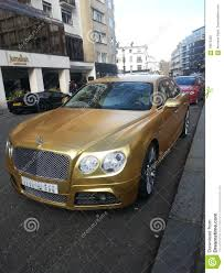 gold bentley mulsanne gold bentley editorial image image of billionaire saudi 70070320