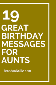 Halloween Birthday Poems 21 Great Birthday Messages For Aunts Birthday Messages Aunt And