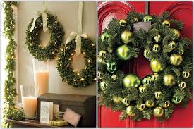 decorative wreaths for the home bring out the christmas spirit with a wreath home decor and design