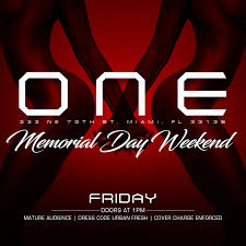 one gentlemens club presents memorial day edition friday night