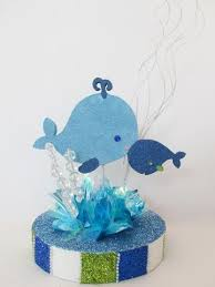 baby shower whale theme baby centerpieces baby shower christening more tagged baby