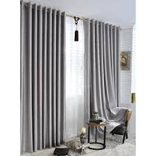 Hotel Room Darkening Curtains Silver Energy Saving Hotel Quality Blackout Curtains