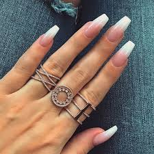 the 25 best french acrylic nails ideas on pinterest french