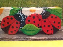 Small Red Bugs On Patio by Spring Including Lady Bugs Paver Crafts Paver Crafts