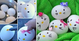 how to decorate easter eggs wonderful diy hello kitty egg and more 12 easter egg projects
