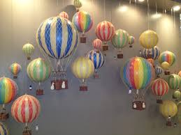 hot air balloon decorations brainstorm hot air balloons 1st birthday ideas