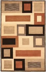 brown and tan area rug pandora pr 244 by rizzy rugs blue rust