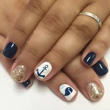 anchor whale cruise nail art design nail art pinterest