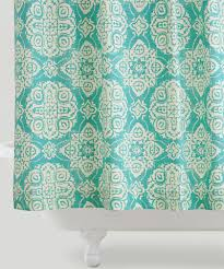 Turquoise Shower Curtains Turquoise Shower Curtains Decor By Color