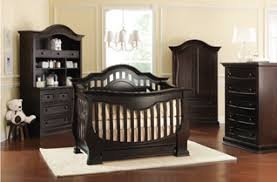 Espresso Baby Crib by Baby Appleseed Beaumont Baby Furnitture Collection