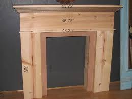 How To Build Fireplace Mantel Shelf - blue roof cabin diy mantel