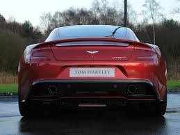 aston martin vanquish red current inventory tom hartley