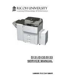 catalogo de peças ricoh mp 201