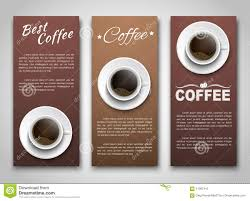 design coffee banners with a cup of coffee stock vector image