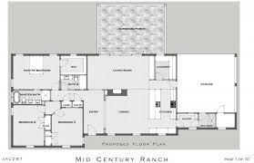 1960s ranch house plans entire floor designed by ivanov catalin 1960 s ranch remodel