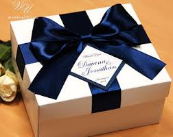 wedding gift boxes wedding gift box etsy