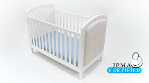 dorel living baby relax senna 3 in 1 upholstered crib white