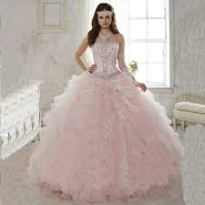light pink quince dresses aliexpress buy don s bridal sleeveless quinceanera